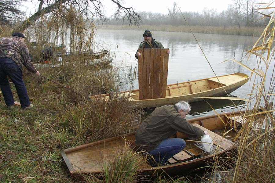 Eberschüttwasser, Boote raus