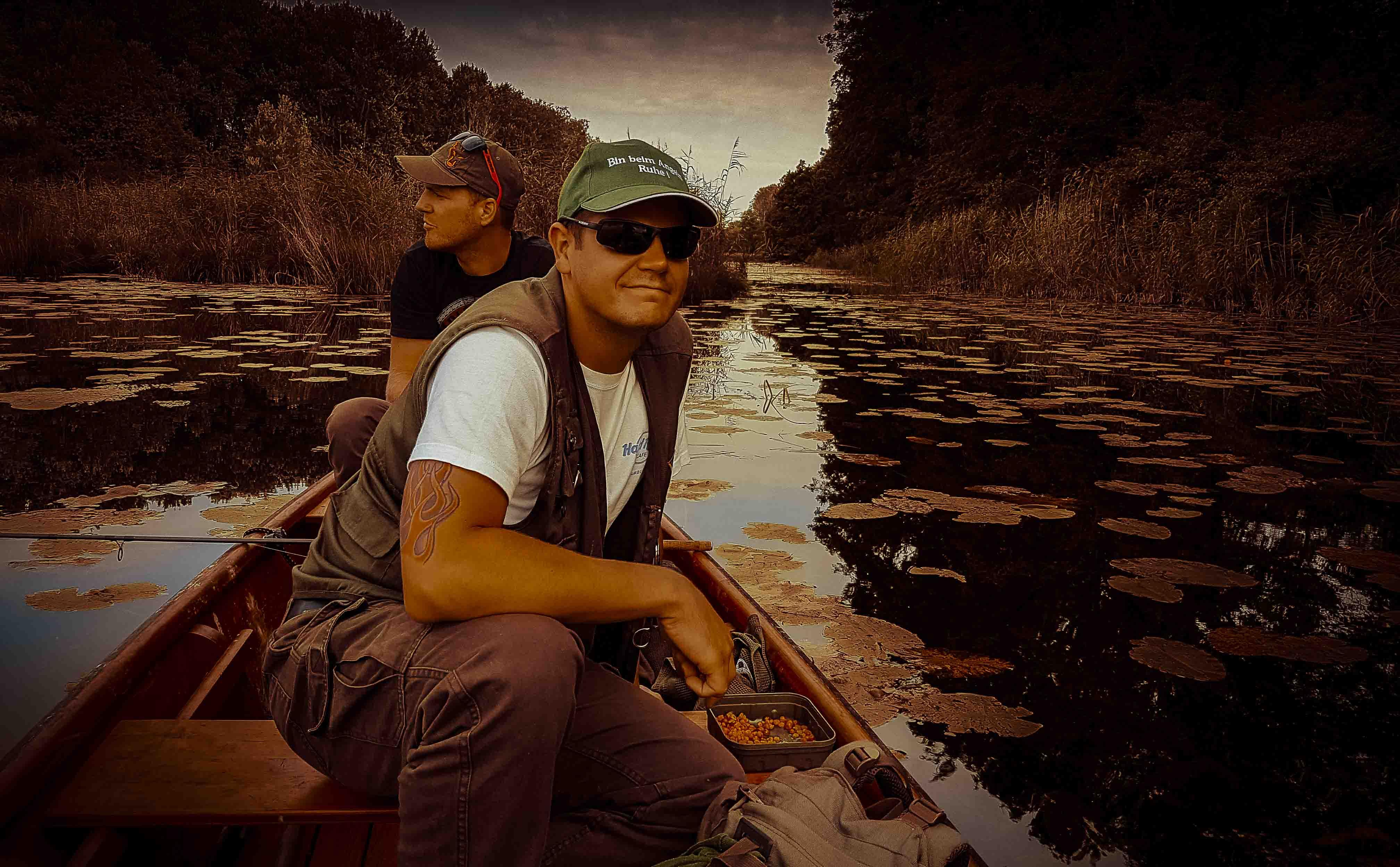 .... fischen im Herzen der Natur!